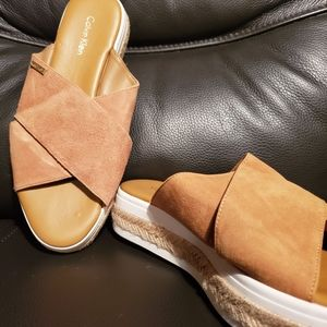 Jupare Calvin Klein shoes simi new worn once